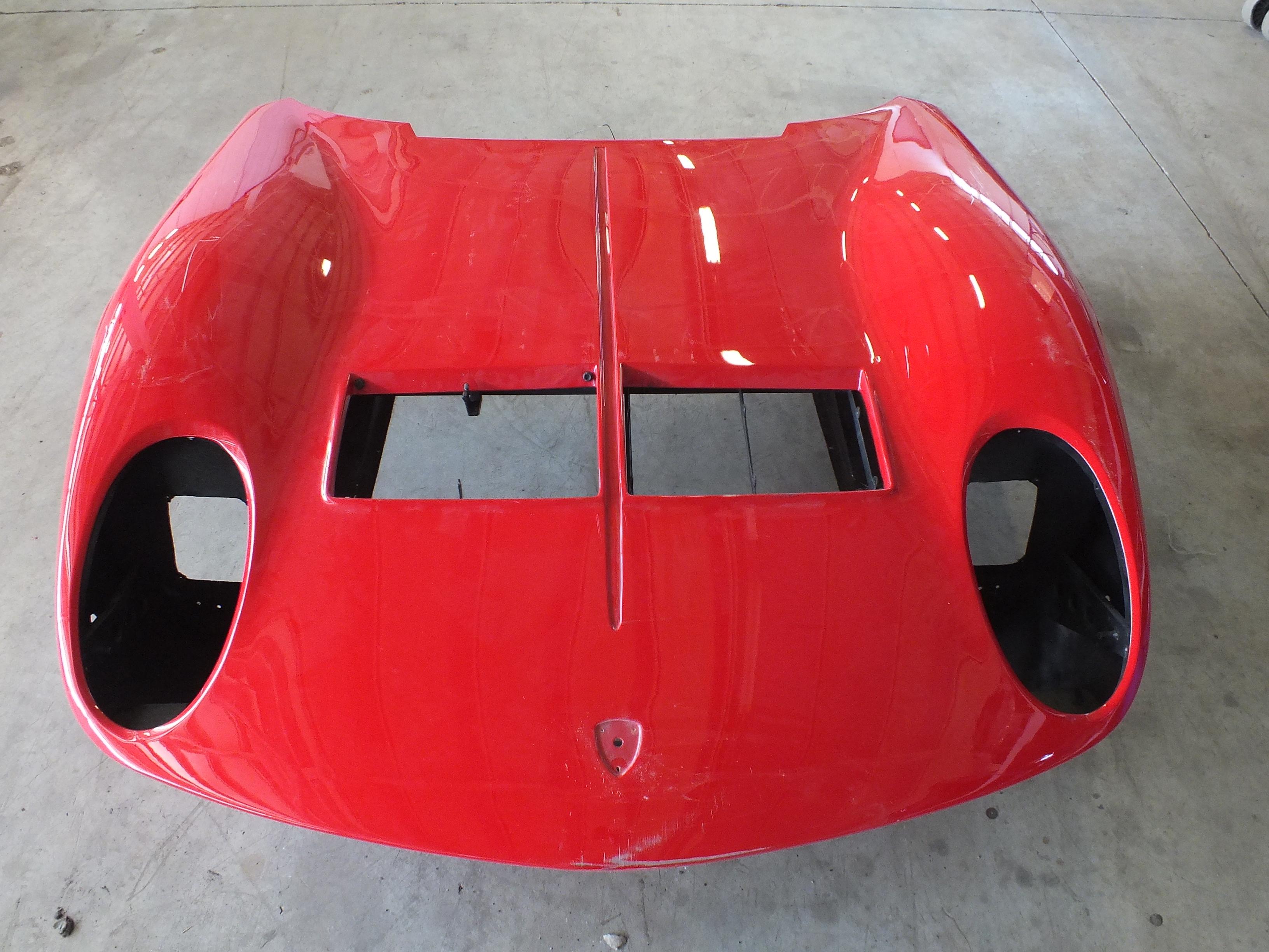 Lamborghini Miura S #4000 - sverniciatura cofano