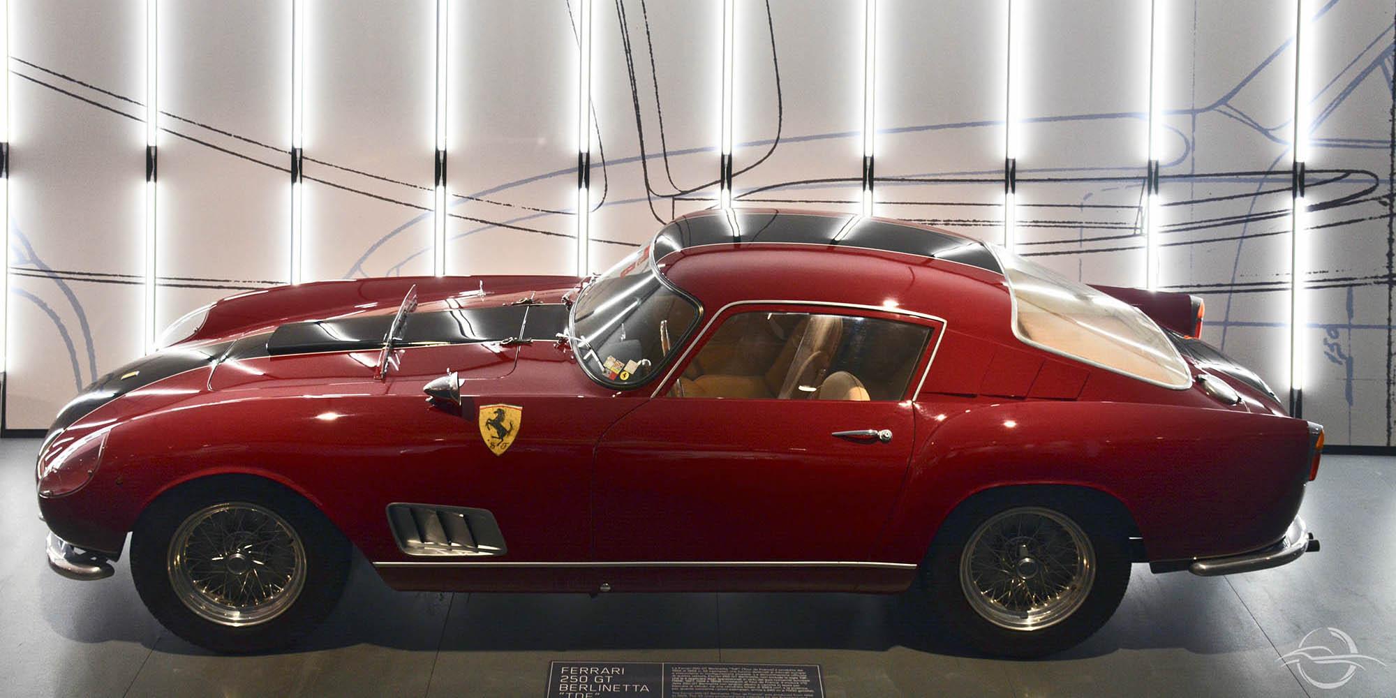 Ferrari 250 GT Berlinetta TDF at Ferrari Maranello Museum