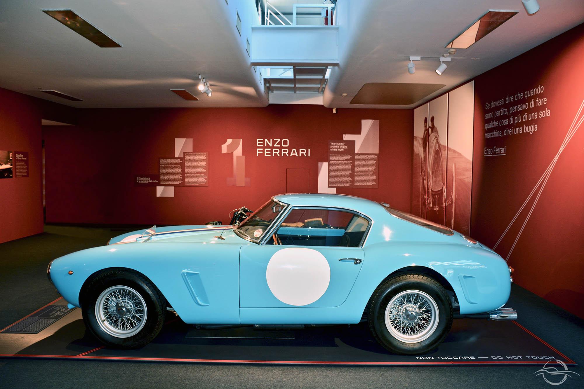 Ferrari 250 SWB presso Museo Ferrari Maranello