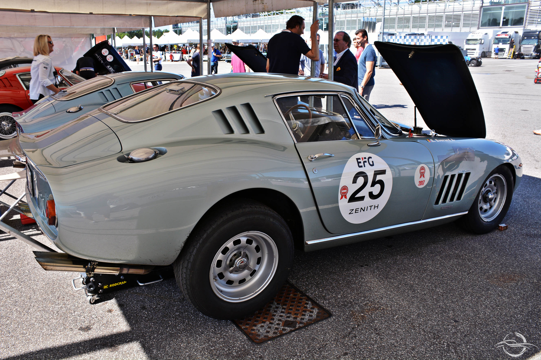 Ferrari 275 C at Monza Eni Circuit