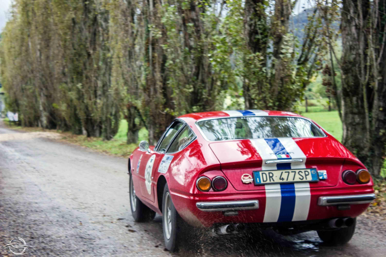 Ferrari 365 GTB/4 Daytona 1970 alla Coppa Franco Mazzotti 2019