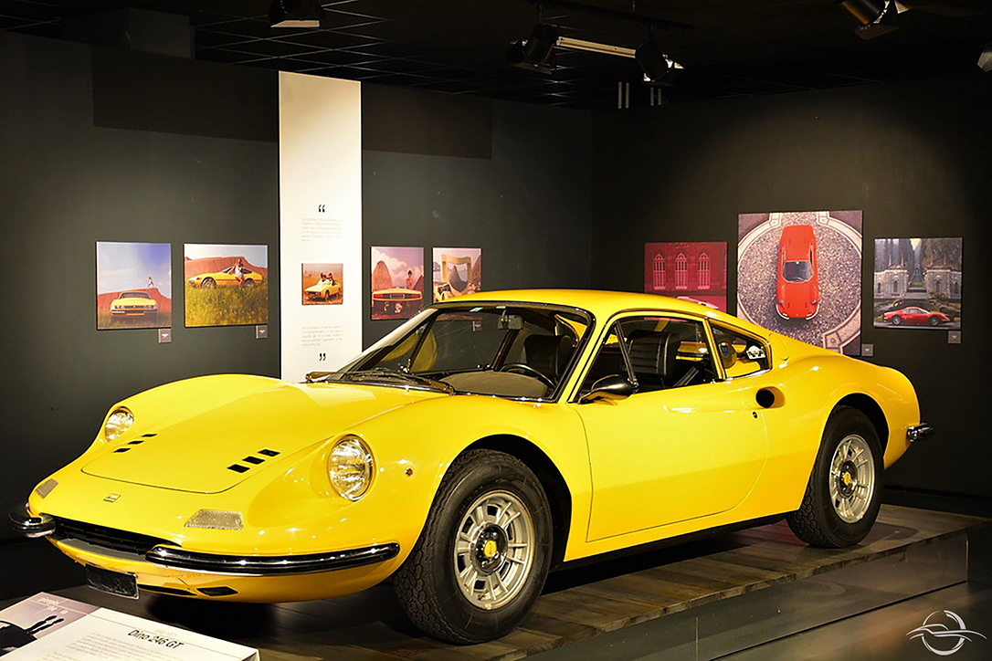 Ferrari Dino 246 GT at Museo dell'Automobile MAUTO in Torino