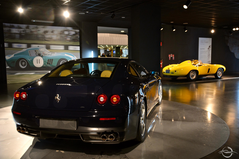 Tre Epoche - Ferrari 750 Monza - Ferrari 250 GTO - Ferrari 612 Scaglietti - MAUTO Torino